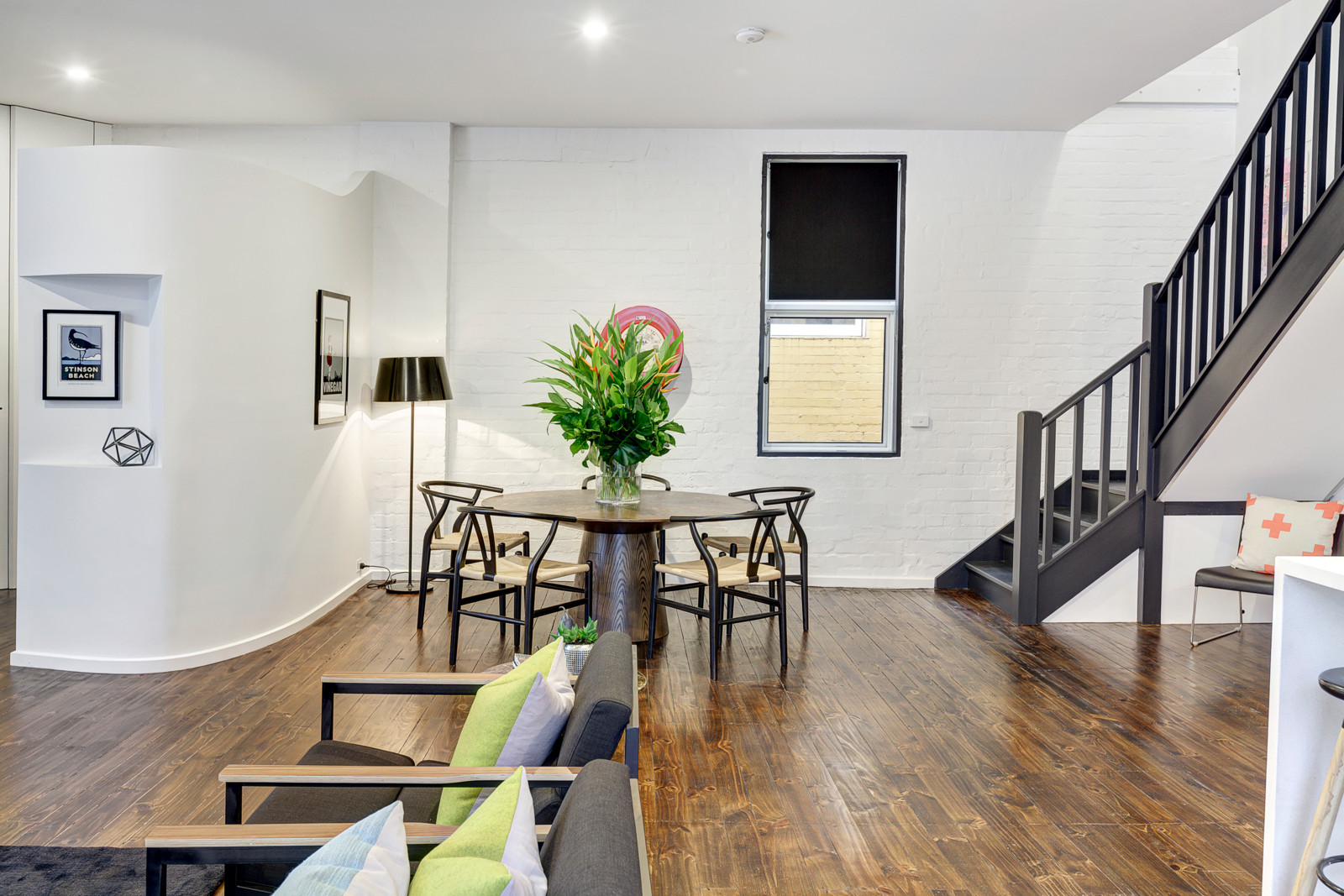 Property Styling - Moore St Dining